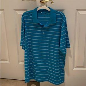 "Adidas golf shirt, ""puremotion"" men's M"